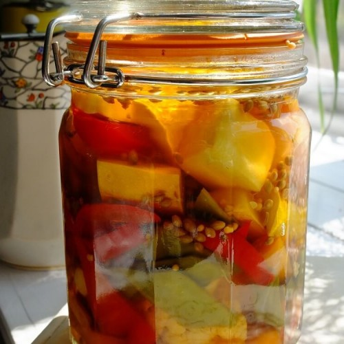 french style pickled veggies